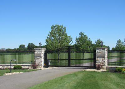 Aluminum Gate 62316