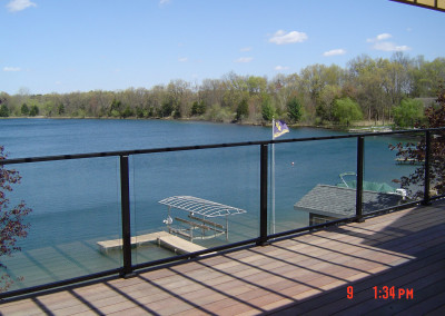 Glass and Aluminum Railing