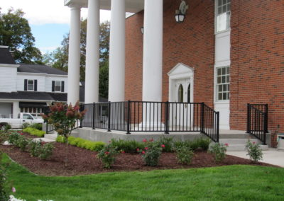 Alum. Railing – Goshen Provided By:  Millwood Construction