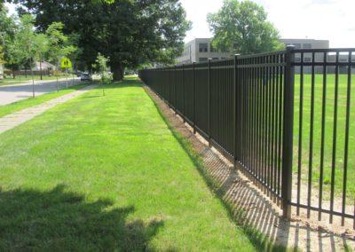 Bremen High School Industrial Alum. Fence